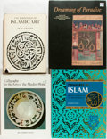 Books:Art & Architecture, [Islamic Art]. Group of Four Books about Islamic Art. Various publishers and dates. Original bindings and dust jackets. Rubb... (Total: 4 Items)