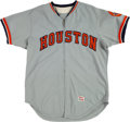 Baseball Collectibles:Uniforms, 1974 Roger Craig Game Worn Houston Astros Coach's Jersey. ...