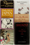 Books:Travels & Voyages, [Japan]. Group of Five Books about Japan. Includes three books about life in Japan, as well as books about Shinto and Japane... (Total: 5 Items)