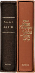 Books:Biography & Memoir, John Barth. SIGNED/LIMITED. Letters. New York: Putnam's,[1979]. First edition, limited to 500 numbered copies sig...(Total: 2 Items)