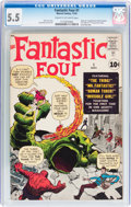 Silver Age (1956-1969):Superhero, Fantastic Four #1 (Marvel, 1961) CGC FN- 5.5 Cream to off-white pages....