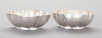 A PAIR OF WILLIAM SPRATLING MEXICAN SILVER BOWLS William Spratling, Taxco, Mexico, circa 1940-1946 Marks: WS