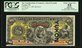 Canadian Currency: , Toronto, ON- The Canadian Bank of Commerce $10 Jan. 2, 1892 Ch. #74-14-18aS Specimen. ...
