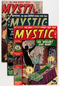 Golden Age (1938-1955):Horror, Mystic Group (Atlas, 1952-57).... (Total: 6 Comic Books)