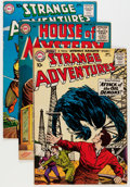Golden Age (1938-1955):Science Fiction, Strange Adventures and House of Mystery Group (DC, 1955-73)Condition: Average FN.... (Total: 22 Comic Books)