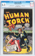 Golden Age (1938-1955):Superhero, The Human Torch #29 (Timely, 1947) CGC FN+ 6.5 Cream to off-white pages....