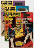 Golden Age (1938-1955):Classics Illustrated, Classics Illustrated Original Editions Group (Gilberton, 1947-51) Condition: Average VG.... (Total: 16 Comic Books)