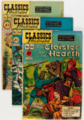 Golden Age (1938-1955):Classics Illustrated, Classics Illustrated Original Editions Group (Gilberton, 1947-53)Condition: Average FN.... (Total: 17 Comic Books)