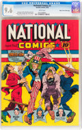 Golden Age (1938-1955):Superhero, National Comics #2 Mile High pedigree (Quality, 1940) CGC NM+ 9.6 White pages....