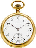 Timepieces:Pocket (post 1900), Edward Howard Rare & Important Gold Pocket Watch With Original Box & License, No. 298, circa 1919. ...