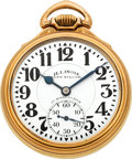 Timepieces:Pocket (post 1900), Illinois Unused Grade 163 23 Jewel Sixty Hour Bunn Special, circa 1930. ...