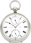 Timepieces:Pocket (pre 1900) , David Glasgow, London, Fine Pocket Chronometer With Date, circa1875. ...