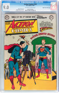 Golden Age (1938-1955):Superhero, Action Comics #150 Mile High pedigree (DC, 1950) CGC VF/NM 9.0 Off-white to white pages....