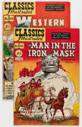 Golden Age (1938-1955):Classics Illustrated, Classics Illustrated #54 and 62 - Original Editions Group (Gilberton, 1948-49) Condition: Average VF-.... (Total: 2 Comic Books)