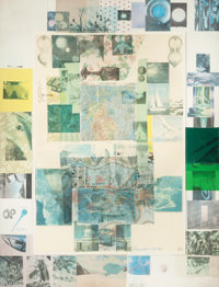 ROBERT RAUSCHENBERG (American, 1925-2008) Rush I (from the Cloister series), 1980 Solvent