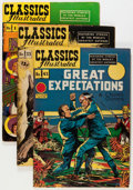Golden Age (1938-1955):Classics Illustrated, Classics Illustrated Group (Gilberton, 1949-61) Condition: AverageVG+.... (Total: 13 Comic Books)
