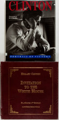 Books:Americana & American History, Group of Two Books Relating to the Clinton Presidency. IncludesInvitation to the White House, FlatSigned first edition,...(Total: 2 Items)