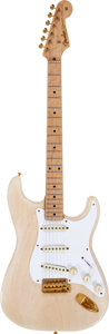 Musical Instruments:Electric Guitars, 1957 Fender Mary Kaye Stratocaster White Solid Body ElectricGuitar, Serial # 14963....