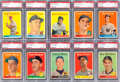 Baseball Cards:Lots, 1958 Topps Baseball PSA Mint 9 Collection (10). ...