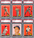 Baseball Cards:Lots, 1958 Topps Detroit Tigers PSA Mint 9 Collection (6)....