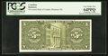 Canadian Currency: , Montreal, PQ- The Provincial Bank of Canada $5 Sept. 1, 1936 Ch. #615-18-02P Back Back Proof. ...