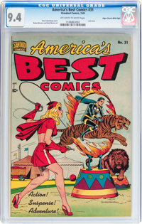 America's Best Comics #31 Mile High pedigree (Standard Publications, 1949) CGC NM 9.4 Off-white to white pages