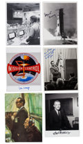 Autographs:Celebrities, NASA Mission Control Collection of Signed Photos (Twenty-Six)....(Total: 26 )