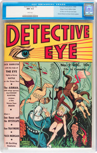 Detective Eye #2 Mile High pedigree (Centaur, 1940) CGC NM 9.4 White pages