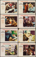 "Movie Posters:Hitchcock, Rear Window (Paramount, 1954). Lobby Card Set of 8 (11"" X 14"").Hitchcock.. ... (Total: 8 Items)"