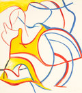 Prints:Contemporary, WILLEM DE KOONING (American, 1904-1997). QuatreLithographies (set of two), 1986. Lithographs in colors. Each28-1/8 x 2... (Total: 2 Items)
