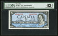 Canadian Currency: , BC-39cA $5 1954 Replacement. ...
