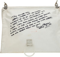 """Apollo 12 Lunar Module Flown Beta Cloth Temporary Stowage Bag (""""Purse"""") Directly from the Personal Collection..."""