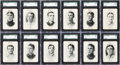 Baseball Cards:Sets, 1904 Fan Craze American League Baseball Complete Set (51) PlusCover Card. ...