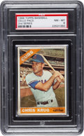 Baseball Cards:Unopened Packs/Display Boxes, 1966 Topps Baseball 2nd Series Cello Pack PSA NM-MT 8....