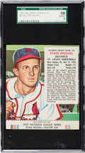 Baseball Cards:Singles (1950-1959), 1953 Red Man Stan Musial #26 SGC 88 NM/MT 8 - Pop Four, Two Higher....