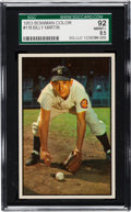 Baseball Cards:Singles (1950-1959), 1953 Bowman Color Billy Martin #118 SGC 92 NM/MT+ 8.5....