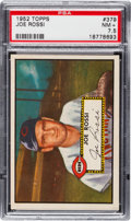 Baseball Cards:Singles (1950-1959), 1952 Topps Joe Rossi #379 PSA NM+ 7.5....