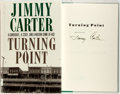 Books:Americana & American History, Jimmy Carter. SIGNED. Turning Point. New York: Times Books,[1992]. First edition. Signed by Carter. Publisher's bin...