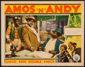 """Movie Posters:Comedy, Check and Double Check (RKO, 1930). Lobby Card (11"""" X 14""""). Comedy.. ..."""