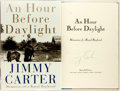 Books:Americana & American History, Jimmy Carter. SIGNED. An Hour Before Daylight. New York:Simon and Schuster, [2001]. First edition. Signed by Carter...