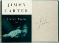 Books:Americana & American History, Jimmy Carter. SIGNED. Living Faith. New York: Times Booksand Random House, [1996]. First edition. Signed by Carter....