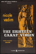 """Movie Posters:Adult, The Eighteen Carat Virgin (World Wide, 1972). One Sheets (26) (27"""" X 41"""") Flat Folded. Adult.. ... (Total: 26 Items)"""