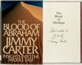 Books:Americana & American History, Jimmy Carter. SIGNED. The Blood of Abraham. Boston: HoughtonMifflin, 1985. First edition. Briefly inscribed. Octav...