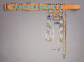 American Indian Art:Beadwork and Quillwork, A SOUTHERN PLAINS BEADED LEATHER BELT...