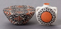 American Indian Art:Pottery, TWO SOUTHWEST POLYCHROME ITEMS... (Total: 2 )