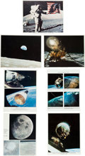 Explorers:Space Exploration, NASA Color Lithographed Photo Collection, Gemini throughApollo-Soyuz, Forty-Three Total. ...