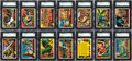 """Non-Sport Cards:Sets, 1962 Topps """"Mars Attacks"""" SGC Graded Complete Set (55). ..."""