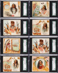 Non-Sport Cards:Lots, 1888 N36 Allen & Ginter Indian Chiefs SGC Graded Collection(20). ...