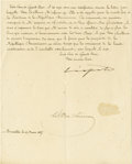 "Autographs:Non-American, Belgium's Notorious King Leopold II Autograph Letter Signed,""Leopold"", one page, 7"" x 8.75"", Brussels, March 10, 1887,... (Total: 1 Item)"