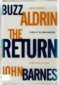 Books:Literature 1900-up, Buzz Aldrin and John Barnes. SIGNED. The Return. New York:Forge, 2000. First edition. Publisher's binding in dust j...